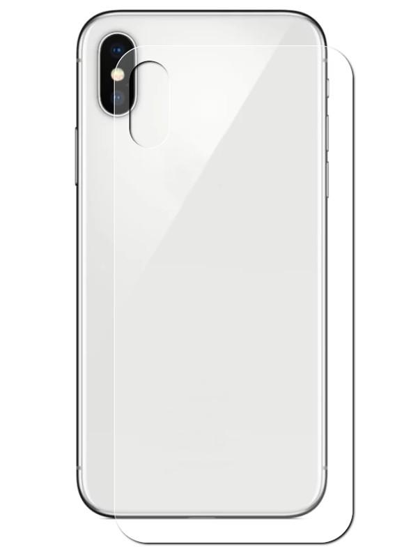 Аксессуар Защитное стекло Solomon для APPLE iPhone X 0.33mm Back 3794 аксессуар защитное стекло solomon 2 5d full cover back white для apple iphone 8 2094