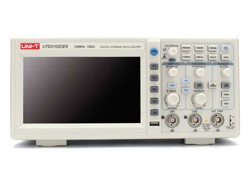 Осциллограф UNI-T UTD2102CEX-II осциллограф owon sds5032e