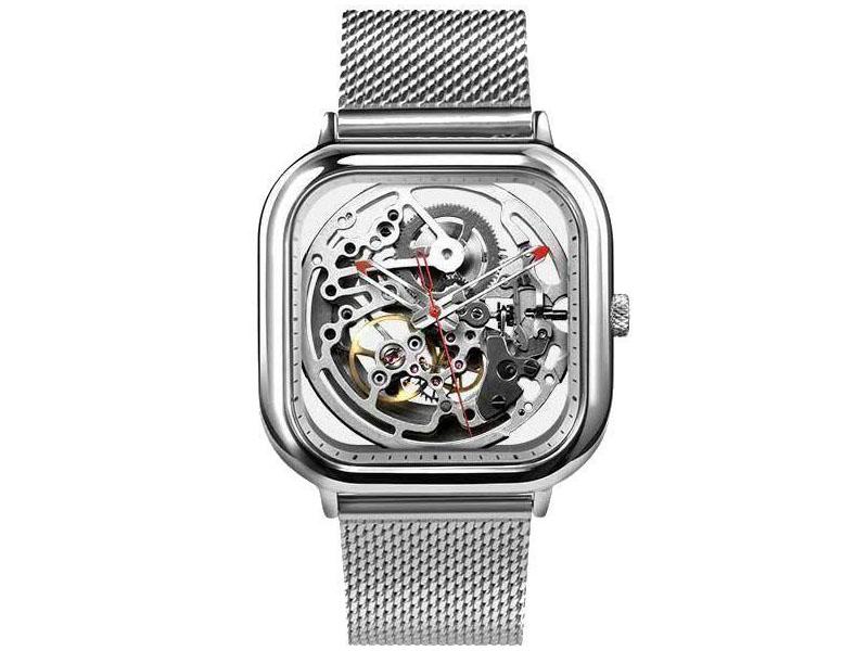 Часы наручные аналоговые Xiaomi Ciga Design Anti-Seismic Mechanical Watch Wristwatch Silver цена