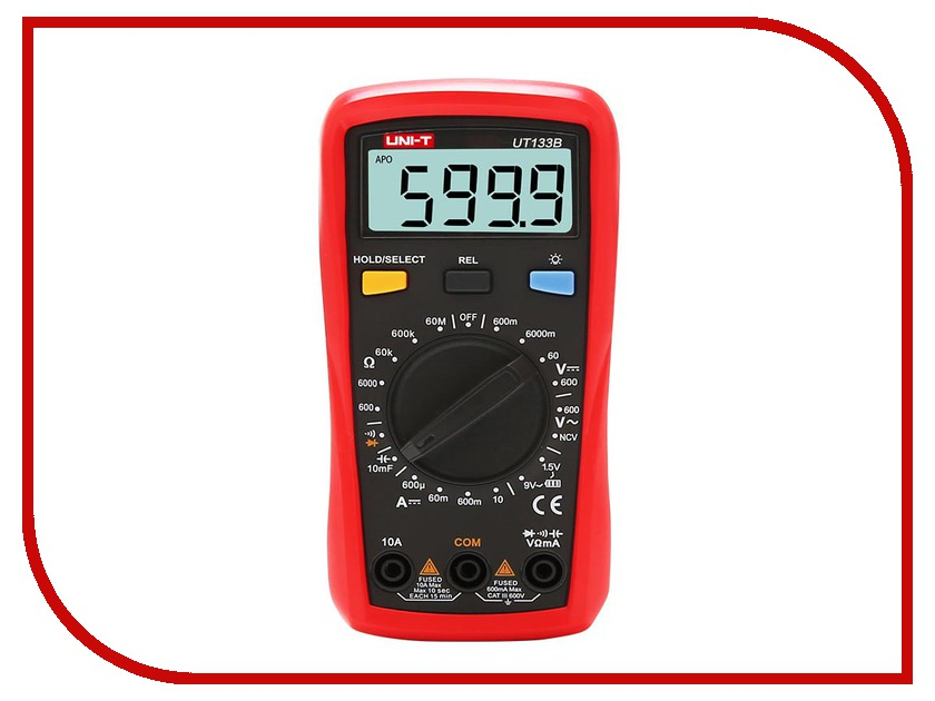 Мультиметр UNI-T UT133B uni t ut601 modern professional capacitance meters ohmmeters capacitor resistor w diode