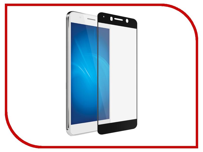 Аксессуар Защитное стекло для Huawei Honor 6A Solomon 2.5D Full Cover Black 1905 чехол для сотового телефона honor 5x smart cover grey