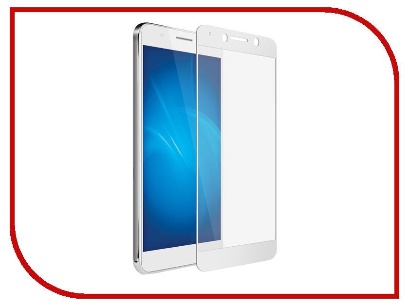 Аксессуар Защитное стекло для Huawei Honor 6A Solomon 2.5D Full Cover White 1912 чехол для сотового телефона honor 5x smart cover grey