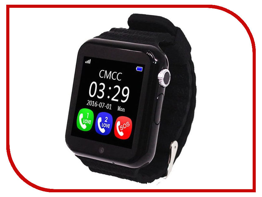 Smart Baby Watch X10 Black z4 smart watch leather strap black