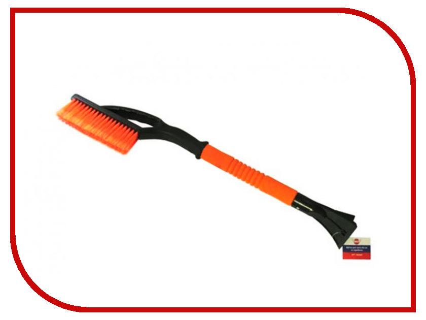 Щётка для снега со скребком МаякАвто 66cm М5 1/12_ м2066 цепи противоскольжения маякавто кn70 1 5  70ц