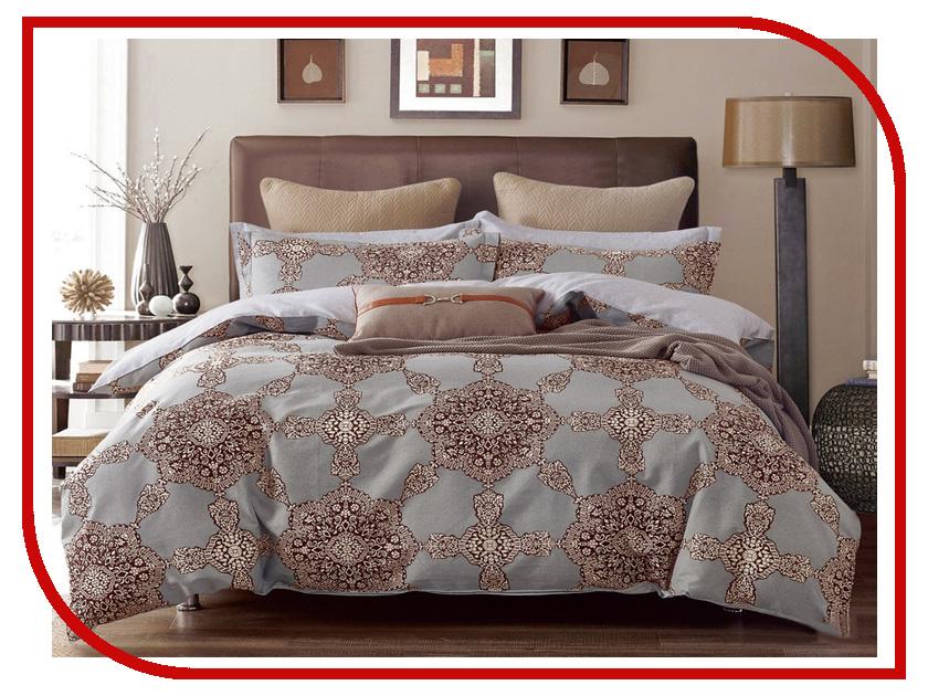 Постельное белье Cleo Satin Lux 15/259-SL Комплект 1.5 спальный Сатин