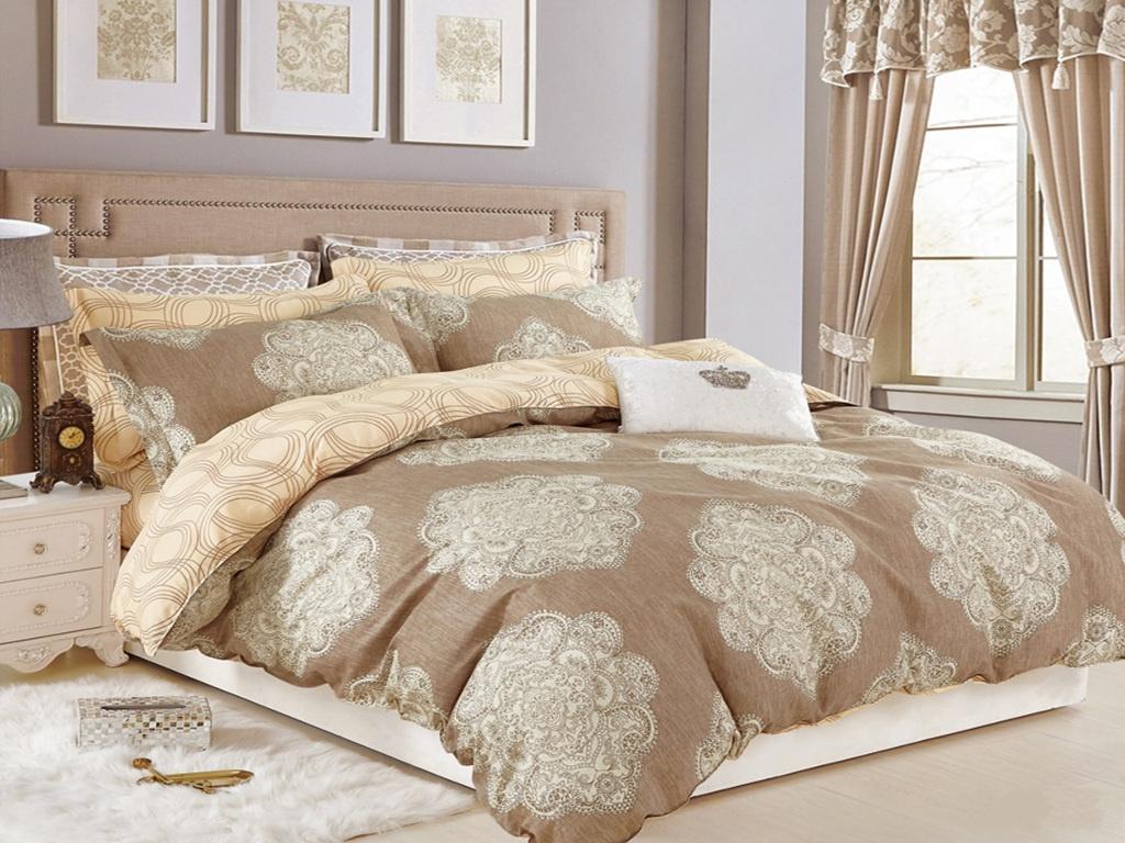 Постельное белье Cleo Satin Lux 20/260-SL Комплект 2 спальный Сатин постельное белье cleo satin lux 20 268 sl комплект 2 спальный сатин