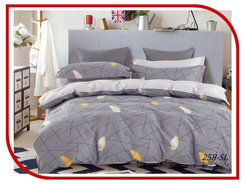 Постельное белье Cleo Satin Lux 31/258-SL Комплект Евро Сатин постельное белье экзотика кензо комплект евро сатин