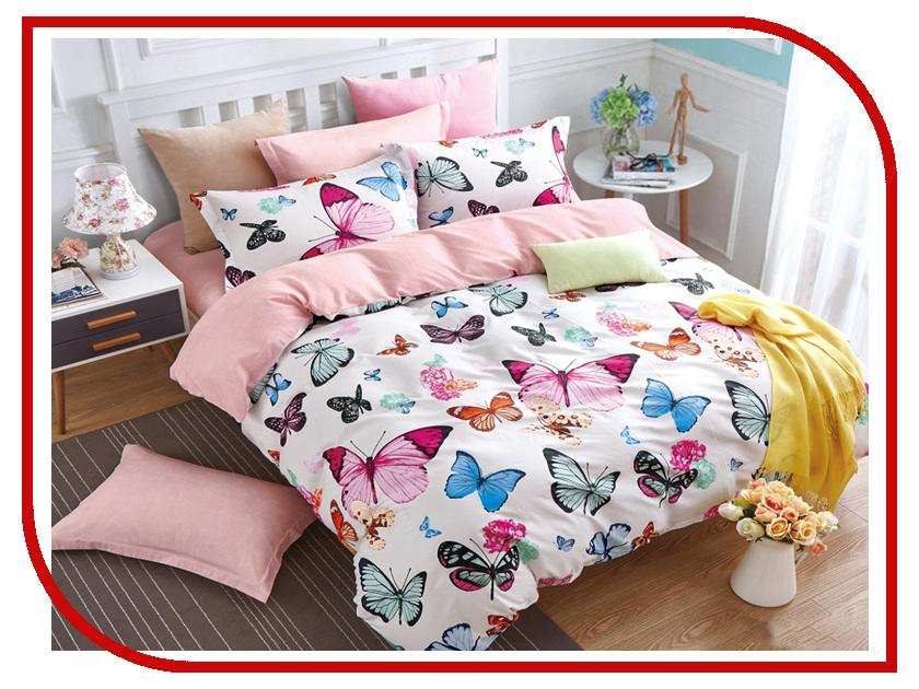 Постельное белье Cleo Satin Lux 20/273-SL Комплект 2 спальный Сатин постельное белье sl постельное белье elia 2 спал