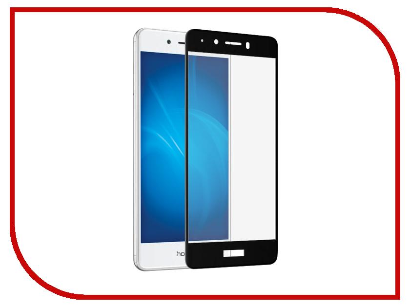 Аксессуар Защитное стекло для Huawei Honor 6C Solomon 2.5D Full Cover Black 748 аксессуар защитное стекло для huawei honor 7a solomon full cover white