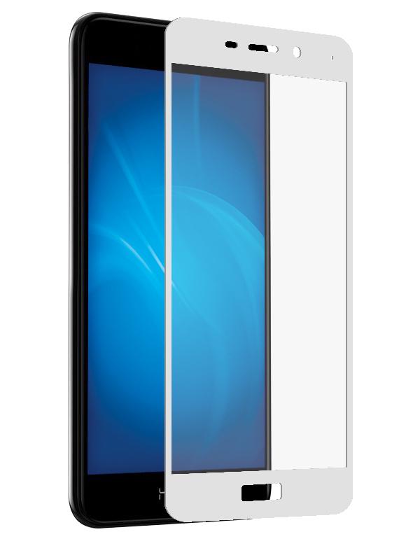 Аксессуар Защитное стекло Solomon для Honor 6C Pro/V9 Play 2.5D Full Cover White 2582 аксессуар защитное стекло для huawei honor 7x solomon 2 5d full cover white 2599