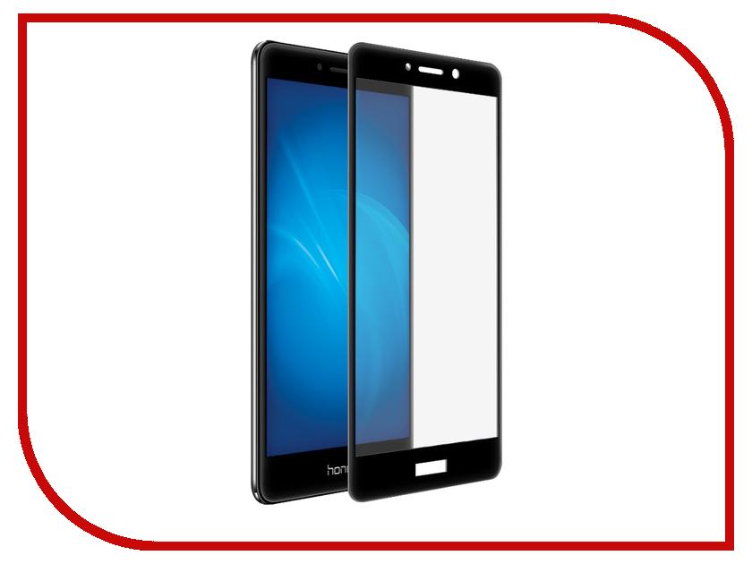 Аксессуар Защитное стекло для Huawei Honor 6X Solomon 2.5D Full Cover Black 9983 роскошный кошелек для huawei honor 6x высококачественная кожаная флип обложка kickstand анти шок полная защита для huawei honor 6x
