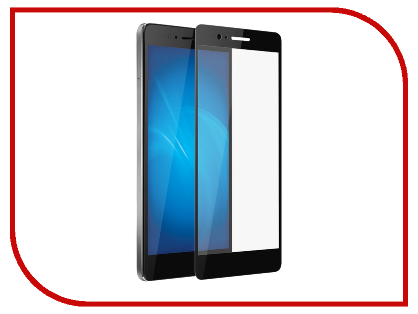 Аксессуар Защитное стекло для Huawei Honor 8 Solomon 2.5D Full Cover Black 793 чехол для сотового телефона honor 5x smart cover grey