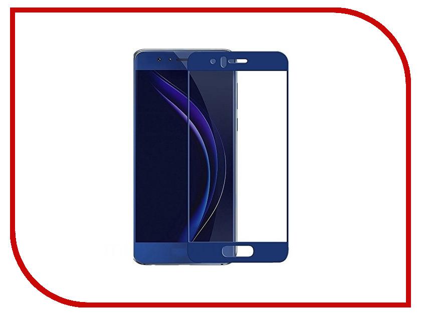 Аксессуар Защитное стекло для Huawei Honor 8 Solomon 2.5D Full Cover Blue 809 чехол для сотового телефона honor 5x smart cover grey