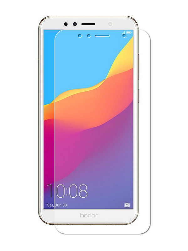 Фото - Аксессуар Защитное стекло Solomon для Huawei Honor 7A Pro 0.33mm 3718 аксессуар защитное стекло для huawei honor 7a solomon full cover white