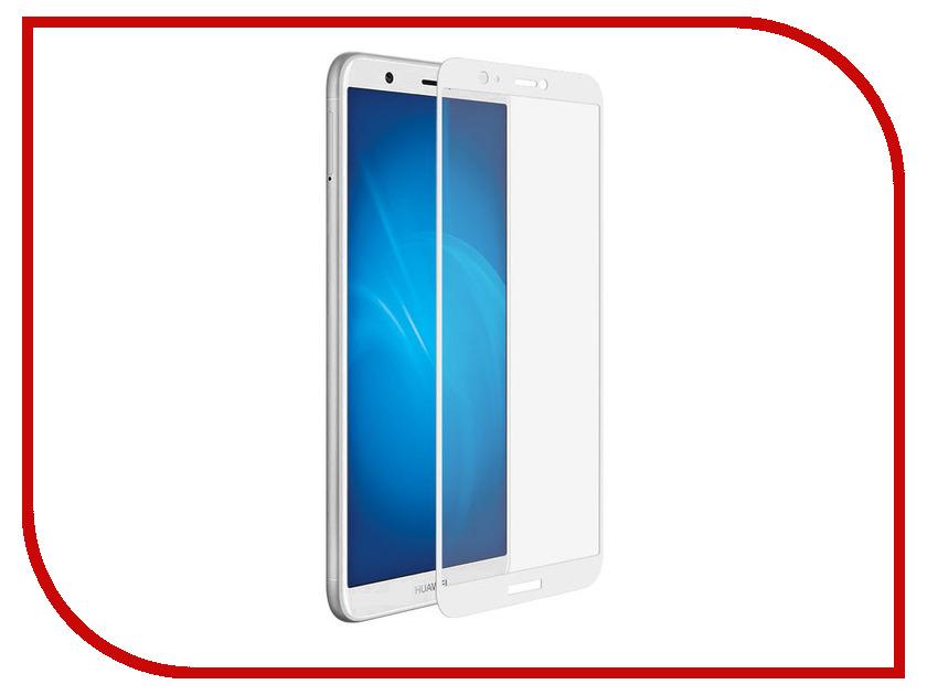 Фото - Аксессуар Защитное стекло для Huawei P Smart Solomon 2.5D Full Cover White 2810 аксессуар защитное стекло для huawei honor 7a solomon full cover white