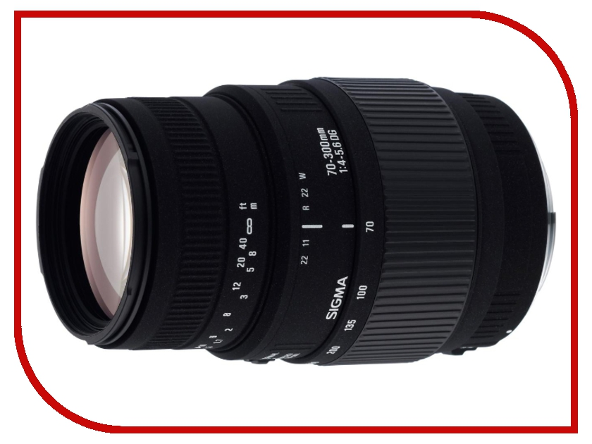 Объектив Sigma Canon AF 70-300 mm F/4-5.6 DG Macro