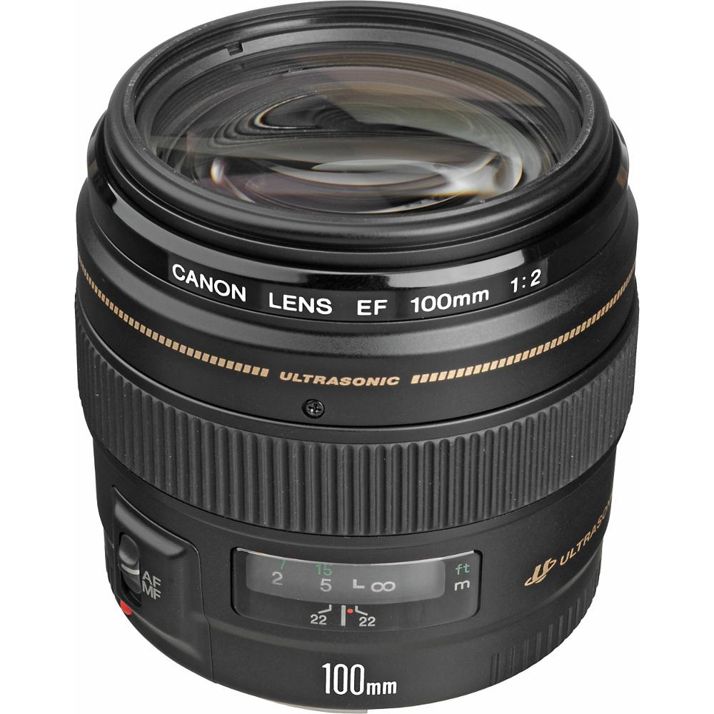 Объектив Canon EF 100 f/2 USM<br>
