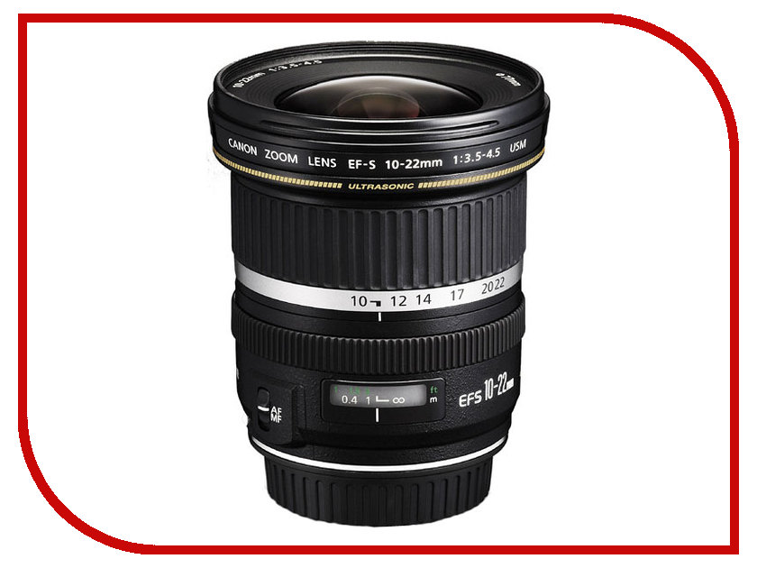 Объектив Canon EF-S 10-22 mm F/3.5-4.5 USM smith bearing mcrv 22 s cam follower needle roller bearing single row stud type full complement sealed 22 mm