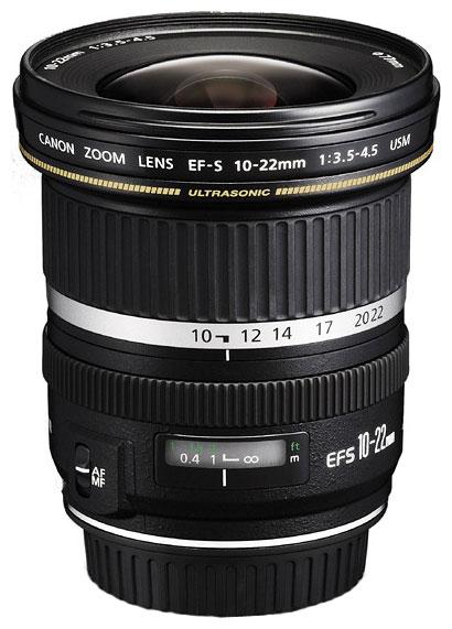 Фото - Объектив Canon EF-S 10-22 mm F/3.5-4.5 USM объектив