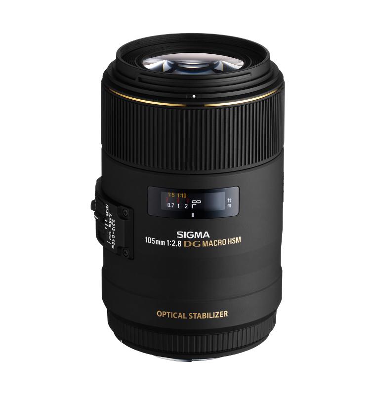 Объектив Sigma Nikon AF 105 mm F/2.8 EX DG OS HSM Macro стеллаж dg home bradwin dg f cft115