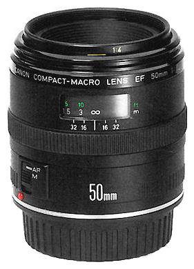 Объектив Canon EF 50 f/2.5 Compact Macro<br>