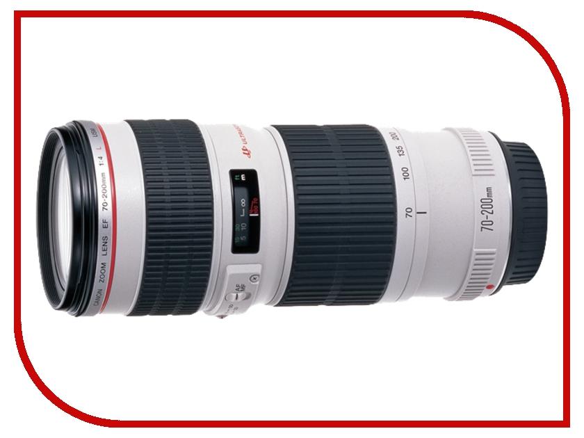 Объектив Canon EF 70-200mm f/4L USM slr объектив uv canon ef 17 40mm f 4l usm