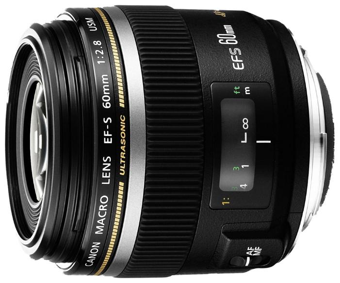 Объектив Canon EF-S 60mm f/2.8 Macro USM<br>