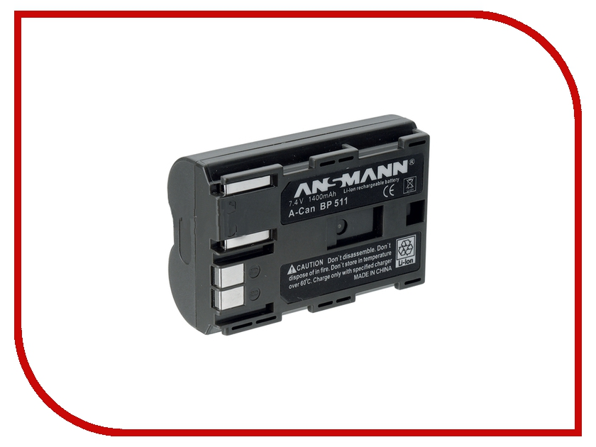 Аккумулятор Ansmann A-Can BP-511 5022283 [wamami]22 black