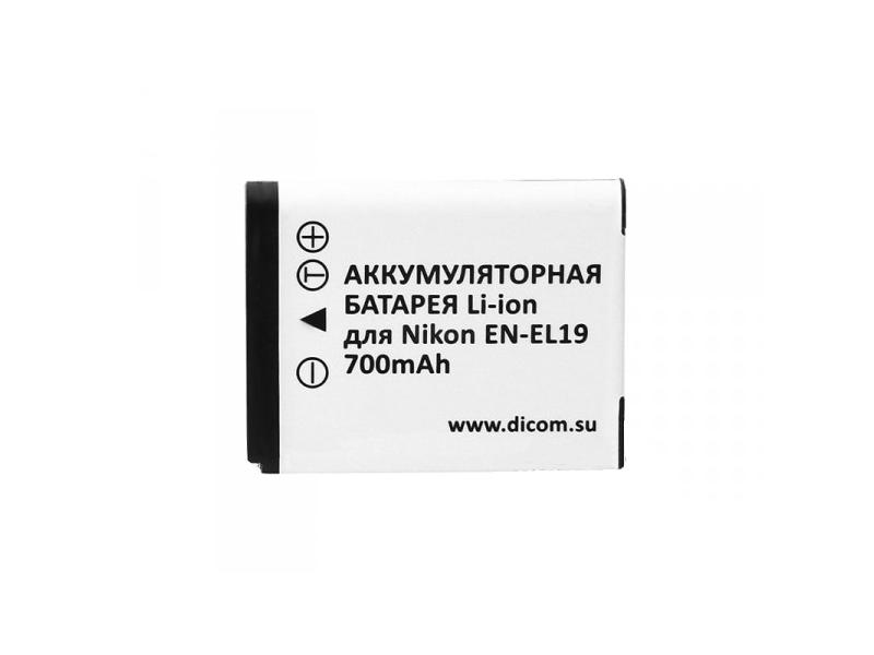 Аккумулятор Dicom DN-EL19