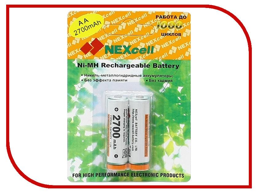 Аккумулятор AA - NEXcell 2700 mAh Ni-MH (2 штуки) AA2700/2pack