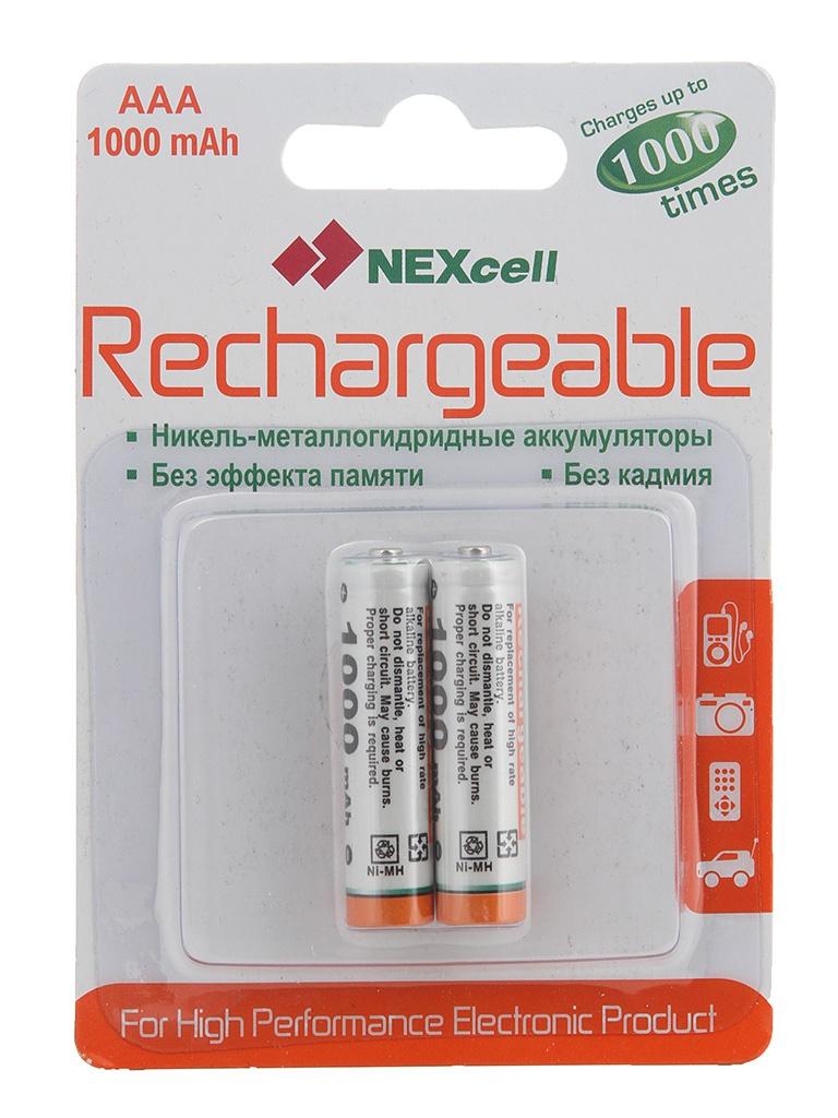 Аккумулятор AAA - NEXcell 1000 mAh Ni-MH (2 штуки) AAA1000/2pack от Pleer