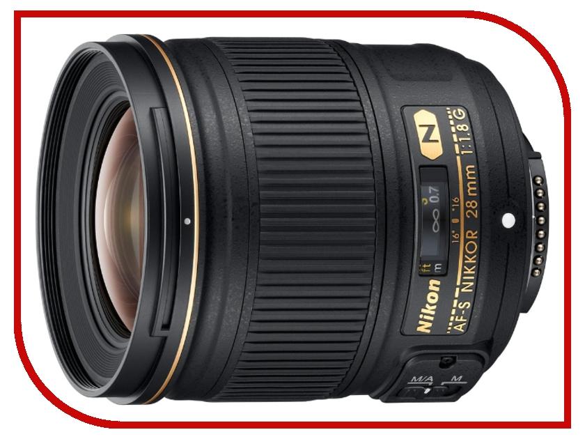 Объектив Nikon Nikkor AF-S 28 mm F/1.8 G<br>