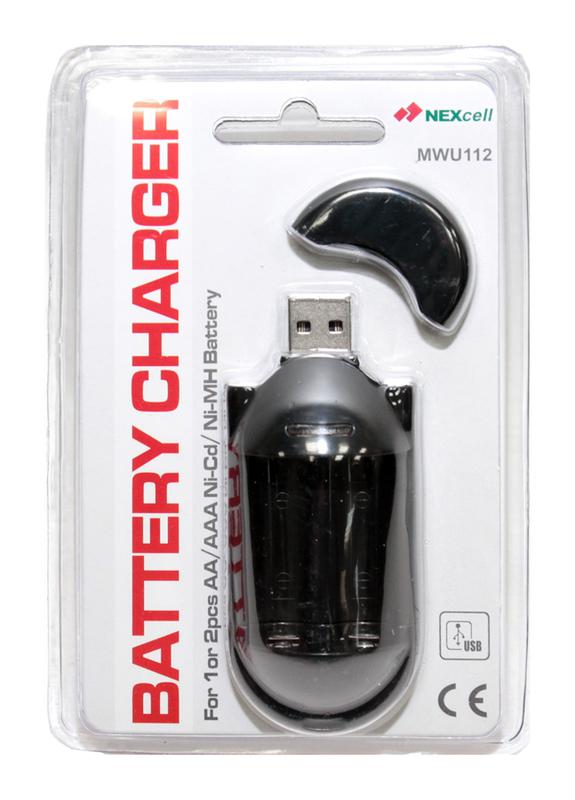 Зарядное устройство NEXcell MWU112CE USB
