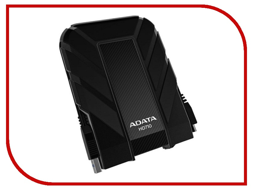 Жесткий диск A-Data DashDrive Durable HD710 1Tb Black AHD710-1TU3-CBK