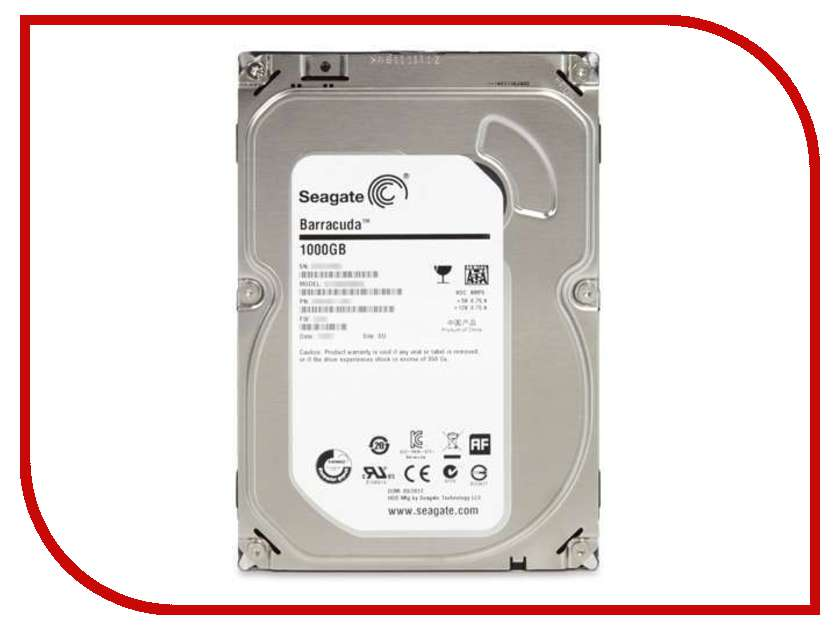 Жесткий диск 1Tb - Seagate ST1000DM003 Barracuda<br>