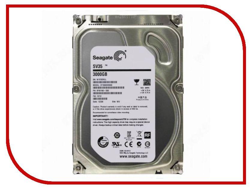 Жесткий диск 3Tb - Seagate ST3000VX000 SV35