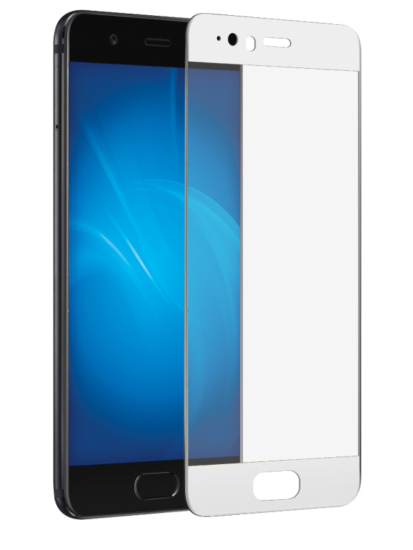 Аксессуар Защитное стекло Solomon для Huawei P10 2.5D Full Cover White 9471 цена