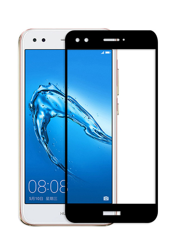 Аксессуар Защитное стекло Solomon для Huawei Nova Lite 2.5D Full Cover Black 2995