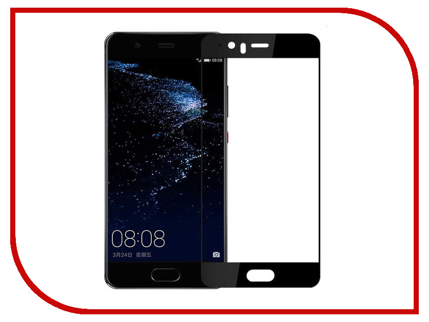 Аксессуар Защитное стекло для Huawei P10 Lite Solomon 2.5DFull Cover Black 3015 kenneth cole kc15097001