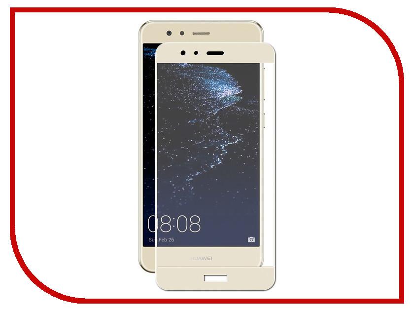 Аксессуар Защитное стекло для Huawei P10 Lite Solomon 2.5D Full Cover Gold 3039 / 3015 аксессуар защитное стекло для huawei honor 9 solomon 2 5d full cover black 762