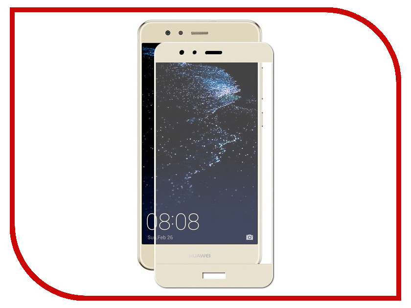 Аксессуар Защитное стекло для Huawei P10 Lite Solomon 2.5D Full Cover Gold 3039 / 3015 huawei huawei p10 lite 32gb ram 3gb