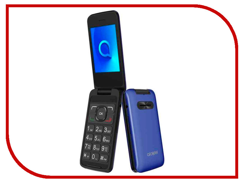 Сотовый телефон Alcatel 3025X Metallic Blue проводной и dect телефон foreign products vtech ds6671 3