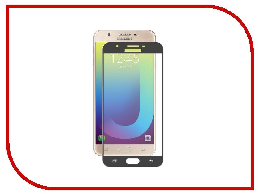 Аксессуар Защитное стекло для Samsung Galaxy J7 Prime Solomon 2.5D Full Cover Black 9891 аксессуар защитное стекло для samsung galaxy a5 2018 a8 2018 ainy full screen cover с полноклеевой поверхностью 0 25mm black af s1244a