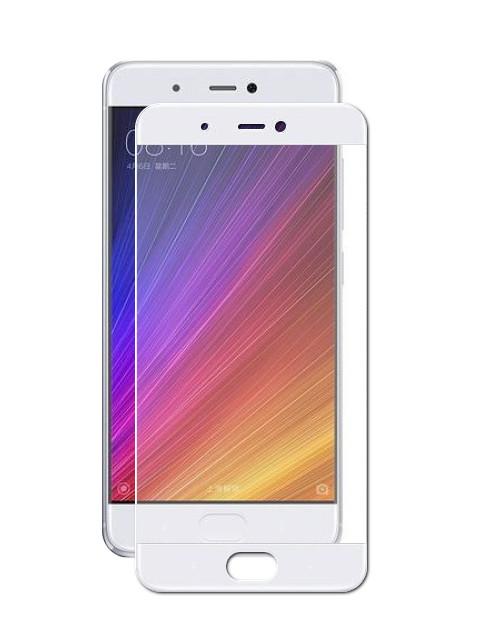 Аксессуар Защитное стекло Solomon для Xiaomi Mi5S Full Cover White 9747 аксессуар защитное стекло fst ag5 c3 для canon 6d markii