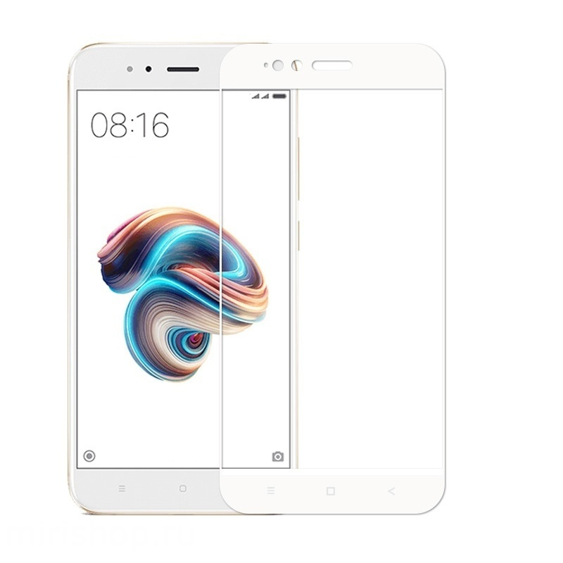 Аксессуар Защитное стекло Solomon для Xiaomi Mi A1/5X Full Cover White 1974 аксессуар противоударное стекло для xiaomi mi 7 innovation 2d full glue cover white 12756