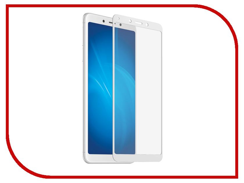 Аксессуар Защитное стекло для Xiaomi Redmi 6 Solomon Full Cover White 4043 аксессуар защитное стекло для xiaomi redmi note 5 solomon full cover black 3923