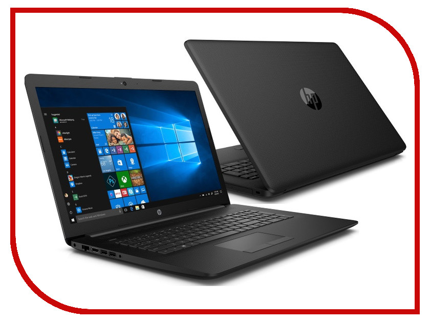 Ноутбук HP 17-ca0063ur Jet Black 4MN64EA (AMD Ryzen 5 2500U 2.0 GHz/4096Mb/1000Gb/DVD-RW/AMD Radeon Vega 8/Wi-Fi/Bluetooth/Cam/17.3/1920x1080/Windows 10 Home 64-bit) ноутбук hp 15 db0206ur amd a4 9125 2300 mhz 15 6 1366x768 4gb 500gb hdd dvd rw amd radeon r3 wi fi bluetooth windows 10 home