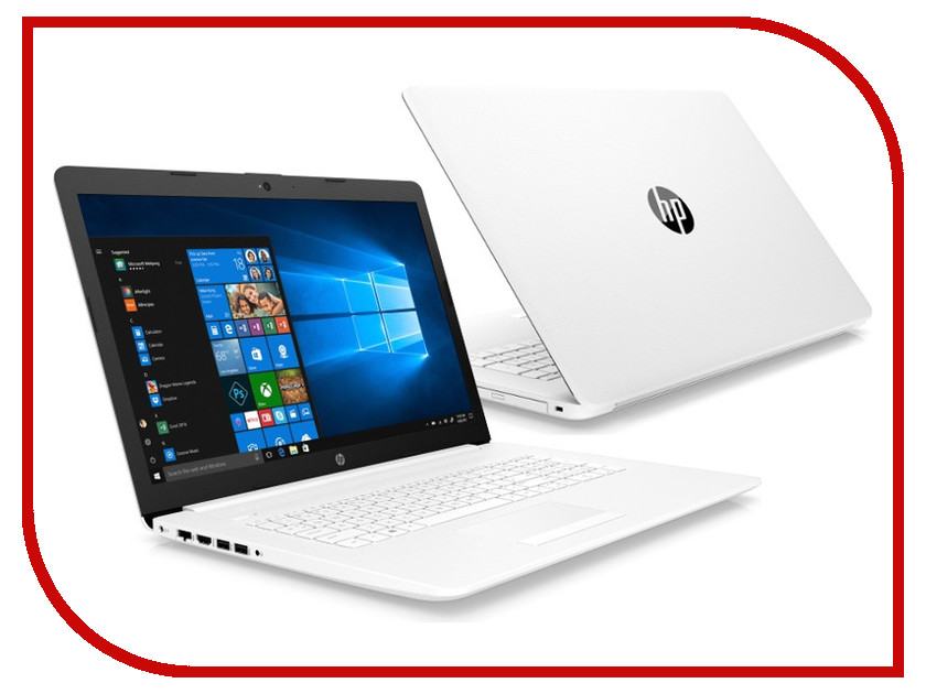 Ноутбук HP 17-ca0064ur Snow White 4MV88EA (AMD Ryzen 5 2500U 2.0 GHz/4096Mb/1000Gb/DVD-RW/AMD Radeon Vega 8/Wi-Fi/Bluetooth/Cam/17.3/1920x1080/Windows 10 Home 64-bit) ноутбук hp 17 by0040ur grey 4kb91ea intel core i7 8550u 1 8 ghz 12288mb 1000gb 128gb ssd dvd rw amd radeon 530 4096mb wi fi bluetooth cam 17 3 1920x1080 windows 10 home 64 bit