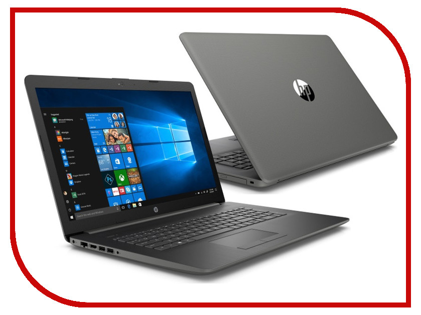 Ноутбук HP 17-ca0065ur Smoke Gray 4ML70EA (AMD Ryzen 5 2500U 2.0 GHz/4096Mb/1000Gb/DVD-RW/AMD Radeon Vega 8/Wi-Fi/Bluetooth/Cam/17.3/1920x1080/Windows 10 Home 64-bit) ноутбук hp 17 by0040ur grey 4kb91ea intel core i7 8550u 1 8 ghz 12288mb 1000gb 128gb ssd dvd rw amd radeon 530 4096mb wi fi bluetooth cam 17 3 1920x1080 windows 10 home 64 bit
