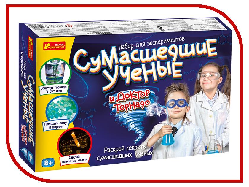 Игра Ranok Creative Сумасшедшие ученые и Доктор Торнадо 12114083Р стоимость